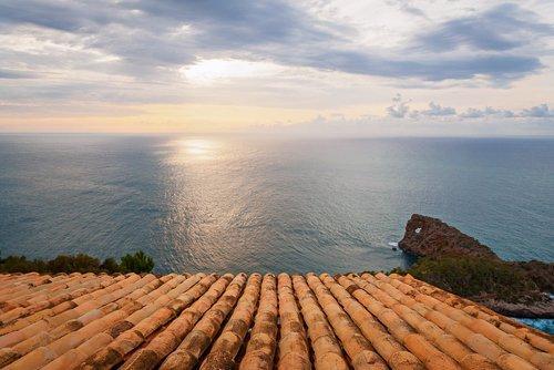 Sa Foradada on coast of Mallorca